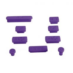 Apple Anti-Dust Plug Kit for MacBook Air/Pro – Purple