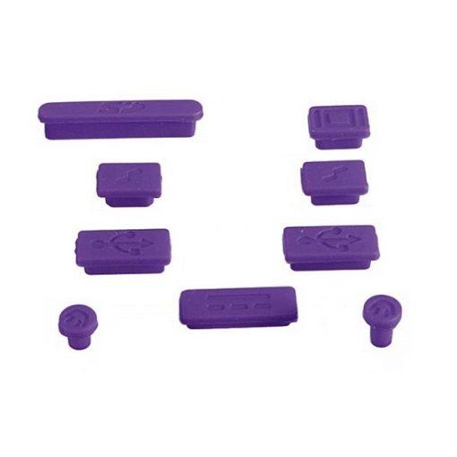 Apple Anti-Dust Plug Kit for MacBook Air/Pro – Purple