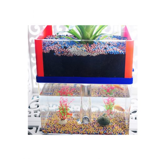 Aquaponic Fish Tank - Blue