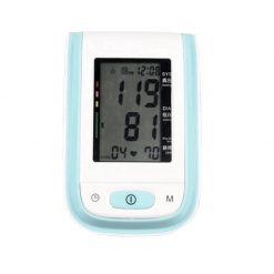 Digital Arm Blood Pressure Monitor - Blue