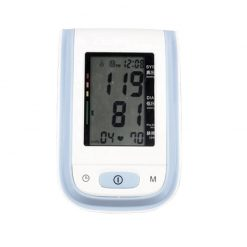 Digital Arm Blood Pressure Monitor - Purple
