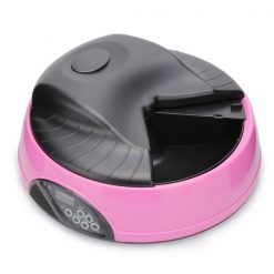 Automatic Pet Feeder - Pink