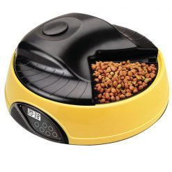 Automatic Pet Feeder - Yellow