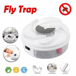 Electric  Fly Catcher Trap Device - White