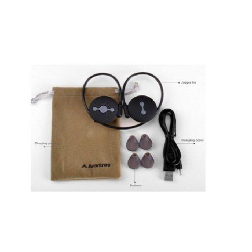 Avantree Jogger Sport Stereo Bluetooth Headset- Black