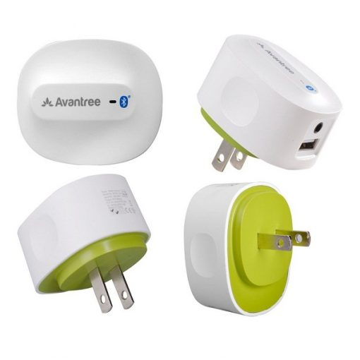 Avantree Roxa Wireless Bluetooth 4.0 Speaker Receiver Adapter - White