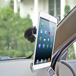 Avantree 360 Degree Rotating Windshield Phone & Tablet Suction Mount - Black
