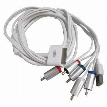 1.8M AV / AV Component Cable for Apple iPad / iPhone / iPod Series
