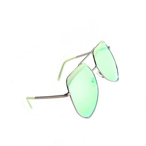 Aviator Sunglasses - Green