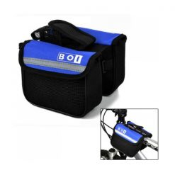 BOI Bicycle Top Tube Double Bag - Blue