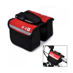 BOI Bicycle Top Tube Double Bag - Red
