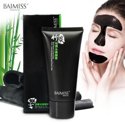 Baimiss Bamboo Charcoal Anti-Blackhead Nose Pack Gel - Black
