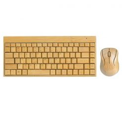 Bamboo Multimedia Wireless Keyboard and Mouse Combo 88 Keys