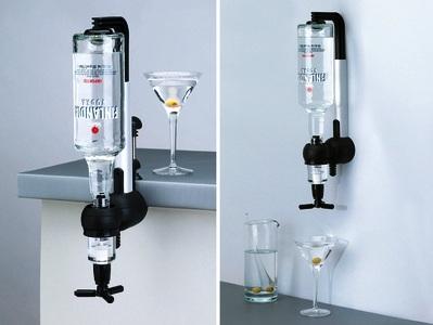 Bar Butler Single Shot Dispenser (For Use On Shelf Or Wall)