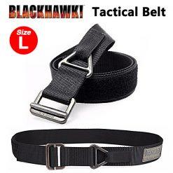 Black Hawk Nylon Military Tactical Belt Large - Black