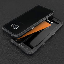 Blade Sword Aluminum Metal Bumper For Samsung Galaxy S7 Edge - Black