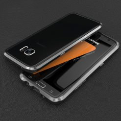 Blade Sword Aluminum Metal Bumper For Samsung Galaxy S7 Edge - Gray