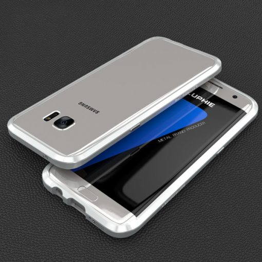 Blade Sword Aluminum Metal Bumper For Samsung Galaxy S7 Edge - Silver