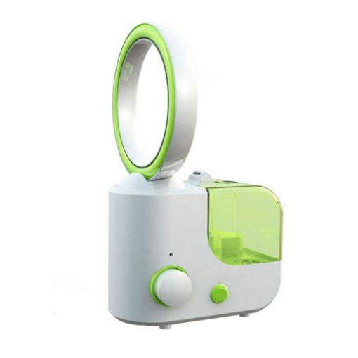 Bladeless Fan 1L Mini Household Humidifier - Green