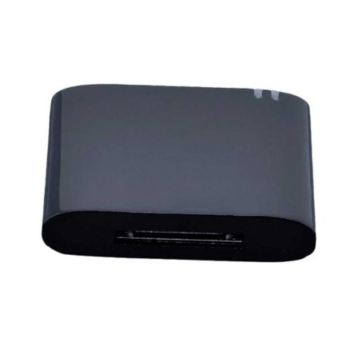 Bluetooth Music Receiver Adapter For 30 Pin Bose Sound Dock - Black
