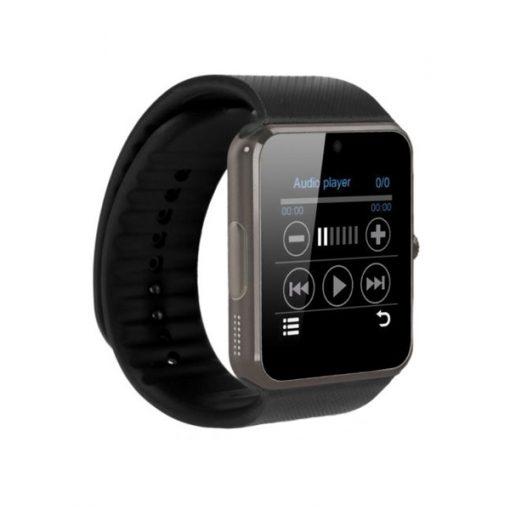 Bluetooth Smart Watch With SIM Card Slot - Black