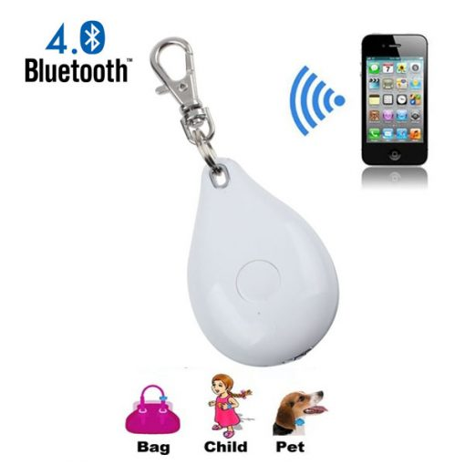 Bluetooth Anti-lost  Key Finder With IOS and Android Application - White