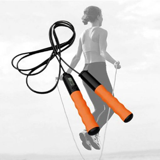 Bluetooth Jumping Rope - Orange / Black