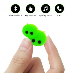 Bluetooth 4.1 WECHAT Style EDR Wireless Headphone - Green