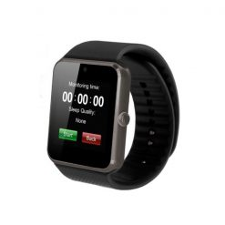 Bluetooth Smart Watch With SIM Card Slot - Black