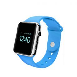 Bluetooth Smart Watch With SIM Card Slot - Blue