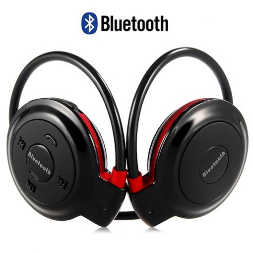Bluetooth Wireless Stereo Headset  - Red