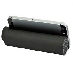 Boas 4 in 1 Bluetooth Speaker and 5000 mah Powerbank - Black