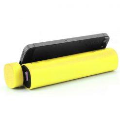 Boas 4 in 1 Bluetooth Speaker and 5000 mah Powerbank - Yellow
