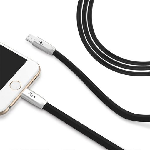 Mcdodo 2 Branches Lightning And Micro USB Charging Data Cable - Black