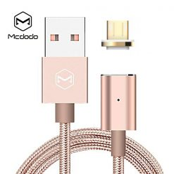 Mcdodo Micro USB Magnetic Data Cable Dust Plug - Pink