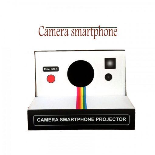 Portable Smartphone Cardboard Projector-Black