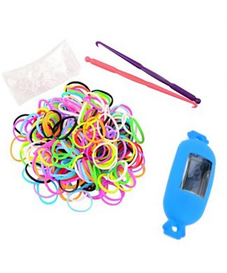 Candy Style Loom Watch Bracelet - Blue