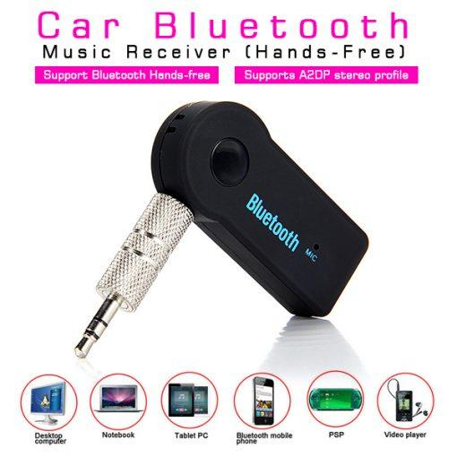 Car Bluetooth Music Receiver BT310 - Black