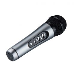 Car And Mobile FM Karaoke Microphone - Black