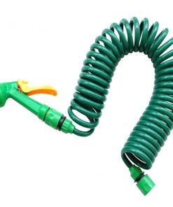 20 Meters Car Washing Coil Hose - Green