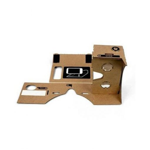 """Cardboard Reality Mobile Phone 3D Viewing Glasses 4.5"""" Screen For Watching Movie"""