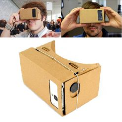 "Cardboard Reality Mobile Phone 3D Viewing Glasses 4.5"" Screen For Watching Movie"