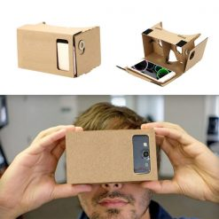 "Cardboard Reality Mobile Phone 3D Viewing Glasses 5.5"" Screen For Watching Movie"