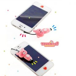 Cartoon Bear Touch Stylus Pen - Pink