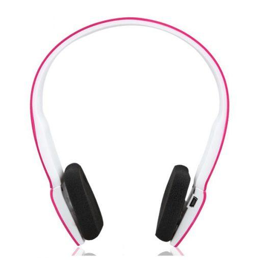 Casque Wireless Bluetooth Sports Headphones - Pink