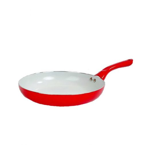 26CM Ceramic Fry Pan - Red
