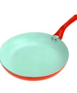 26CM Ceramic Fry Pan - Red