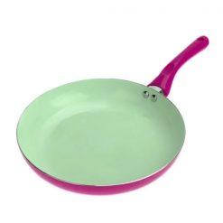 26CM Ceramic Fry Pan - Purple