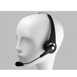 Bluetooth Headset With Mic - Black