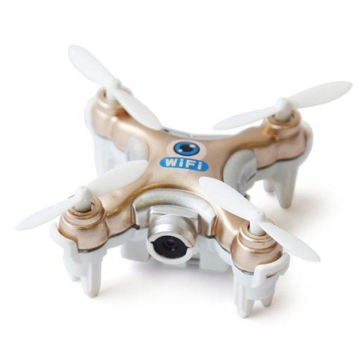Cheerson CX-10W Micro Wifi Quadcopter With Camera - Gold